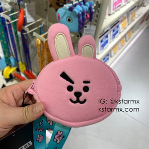 [LINE X BT21] Strap + Coin Purse