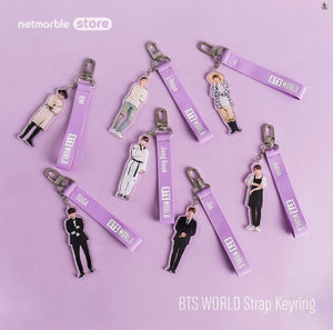 [BTS WORLD] Official Strap Keyring