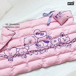 [LINE X BT21] Padded Blanket