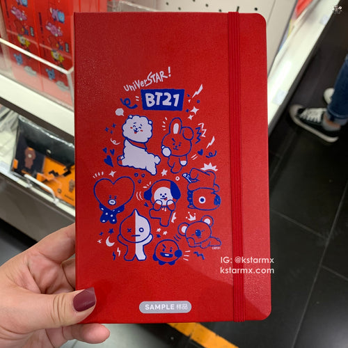 [MOLESKINE X BT21] Ruled Notebook