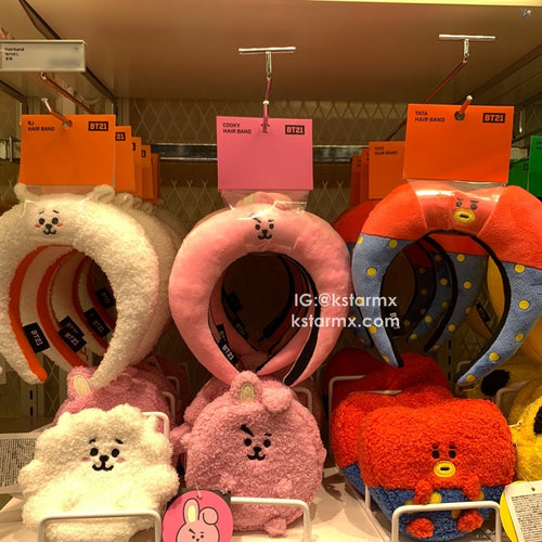 [LINE X BT21] Official Hair Band Baby Face Ver.