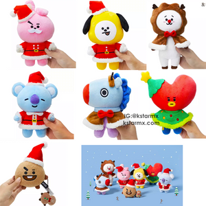 [LINE X BT21] Official Standing Doll Winter Season
