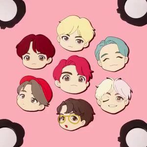 [BIG HIT] OFFICIAL HOUSE OF BTS SEOUL MD –  CHARACTER MIRROR