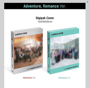 WANNA ONE - 1¹¹=1 Power of Destiny (You can Choose Ver. + Free Shipping)