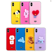 [LINE X BT21] Acrylic Jelly Case for iPhone, LG and Samsung (Free Shipping)