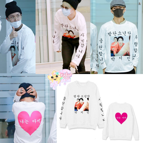 Jimin, Taehyung & J-hope Style I AM ARMY Sweatshirt
