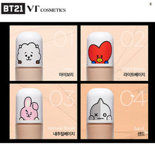 [BT21 X VT COSMETICS]  Tinted Foundation/Color Base/Milk CC Cream/Shimmering Luminizer