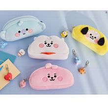[LINE X BT21] Plush Pencil Case Baby Version