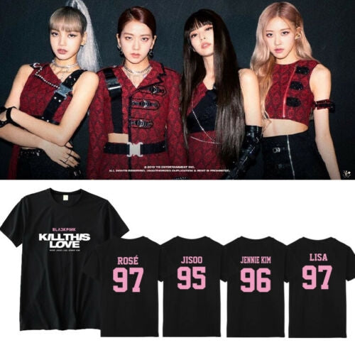 BlackPink Member's Name Kill This Love Shirt