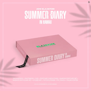 BLACKPINK 2019 SUMMER DIARY IN HAWAII (Free Shipping)