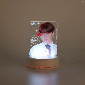 BTS Mood Light 7 Colors LED Lamp Ver.2