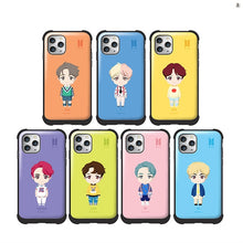 [BIG HIT] OFFICIAL CHARACTER BASIC STANDING VOLUME BUMPER SLIDE Case (iPhone and Samsung)