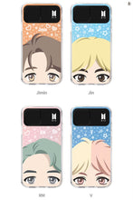 [BIG HIT] OFFICIAL CHARACTER FULL FACE Light up Case (iPhone and Samsung)