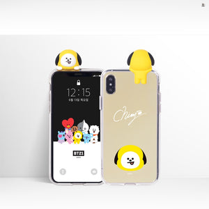 [LINE X BT21] Mirror Bbakkom Case