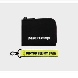 [BIG HIT] BTS OFFICIAL MIC DROP Card Holder Wallet
