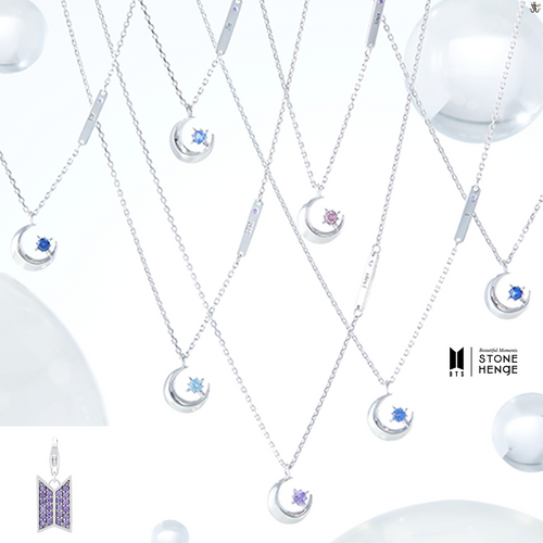 [STONEHENgE x BTS] Moment Of Light COEXIST Necklace Version (Free Shipping)