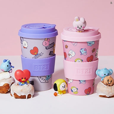 [LINE X BT21] Baby Reusable Tumbler 400ml