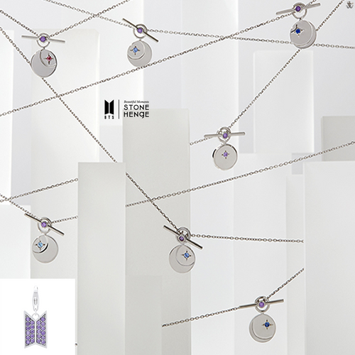 [STONEHENgE x BTS] Moment Of Light DESTINY Necklace Version (Free Shipping)