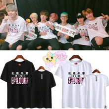 BTS 花樣年華 Epilogue + Members Name Shirt