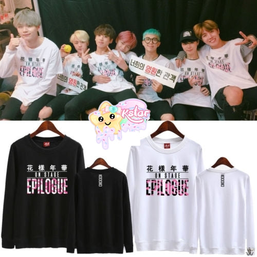 BTS 花樣年華 Epilogue + Members Name Sweater