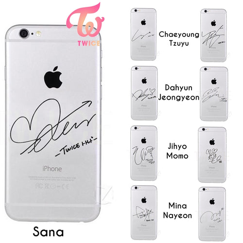 Twice Signature Case