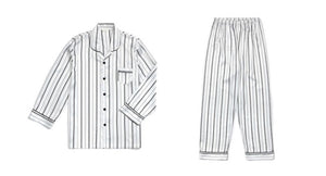 Taehyung's Style Striped Pajamas