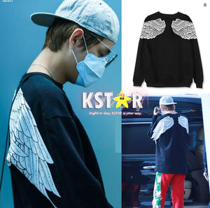 Taehyung's Style Angel Sweater