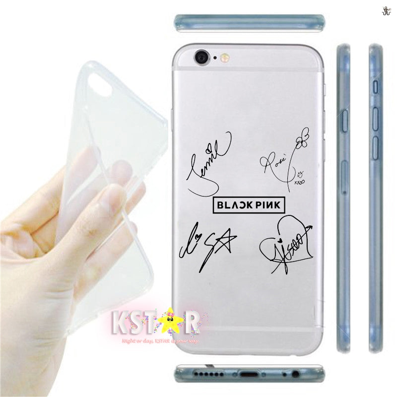 BlackPink Signature Case (iPhone & Samsung)