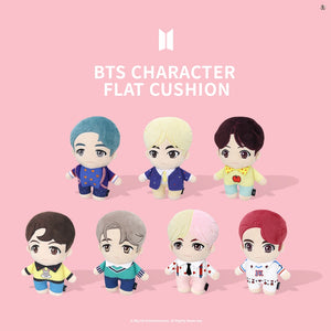 [BIG HIT] OFFICIAL CHARACTER FLAT CUSHION