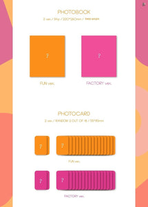 fromis_9 - Fun Factory (You Can Choose Ver + Free Shipping)