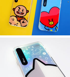 [LINE X BT21] Hi Series Graphic Light Up Case For iPhone (Free Shipping)