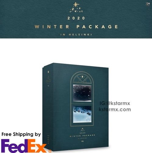 BTS 2020 WINTER PACKAGE in HELSINKI  (Free Express Shipping)
