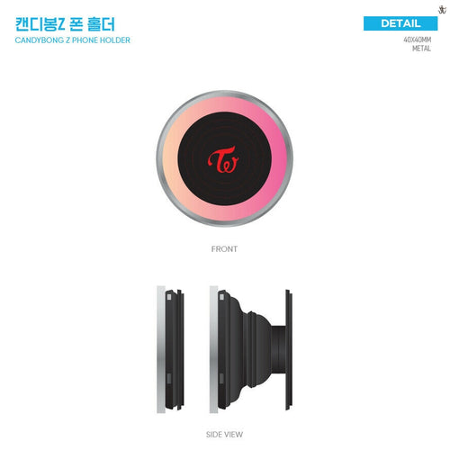 [JYP] Official TWICE Candy Bong Z Phone Holder/Griptok/Pop Socket