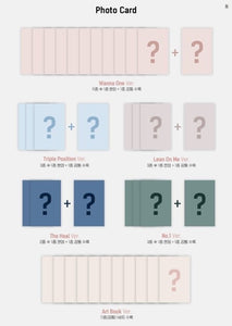 WANNA ONE - [ 1÷X=1 (UNDIVIDED)] (You can Choose Ver + Free Shipping)