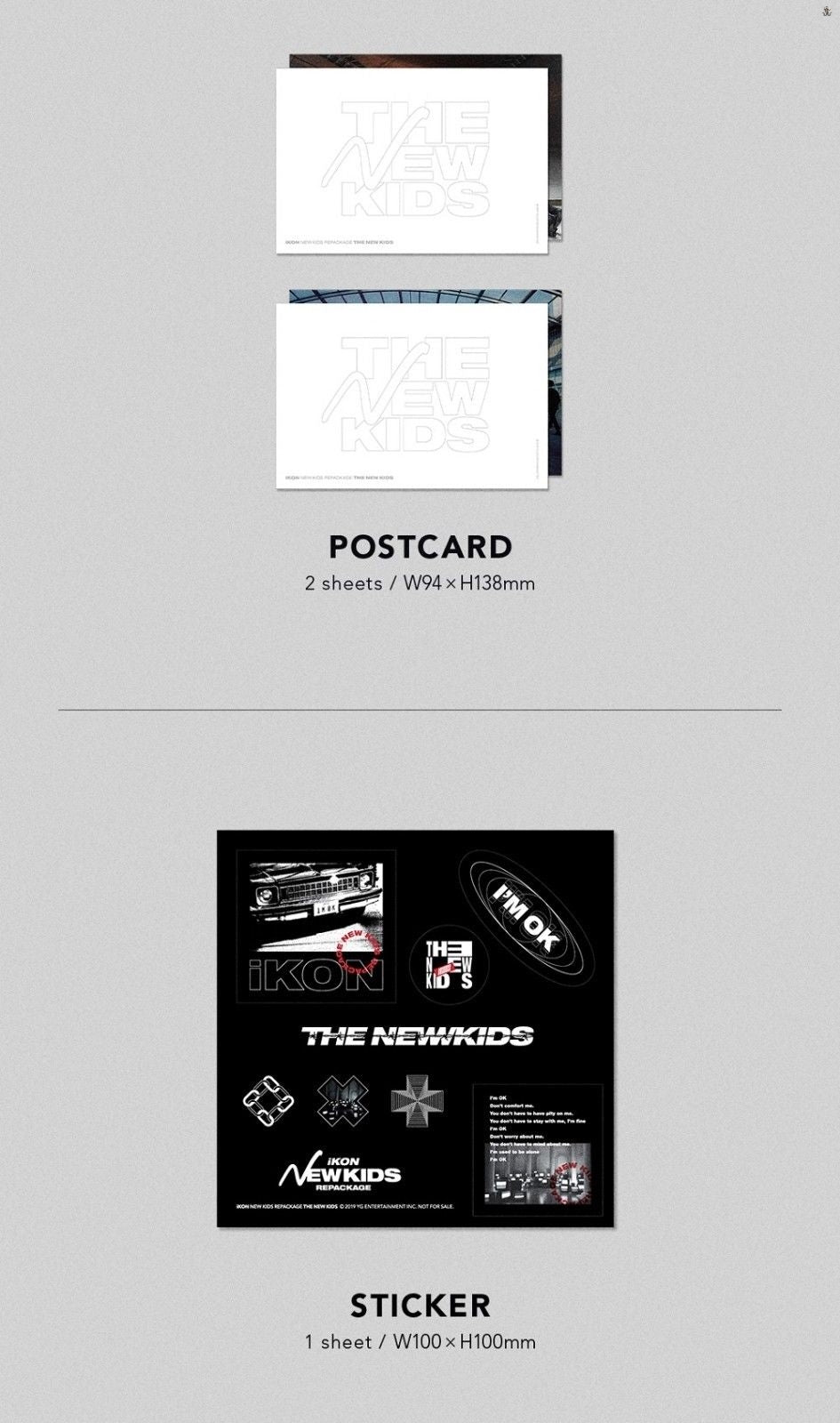 iKON New Kids Repackage: THE NEW KIDS 2CD (You Can Choose