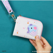 [LINE X BT21] Baby Leather Patch Card Pocket