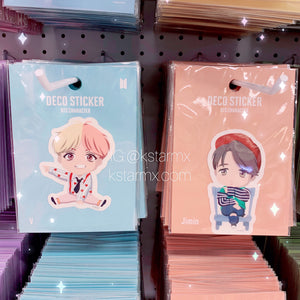 [BIG HIT] OFFICIAL CHARACTER Deco Sticker 7SET
