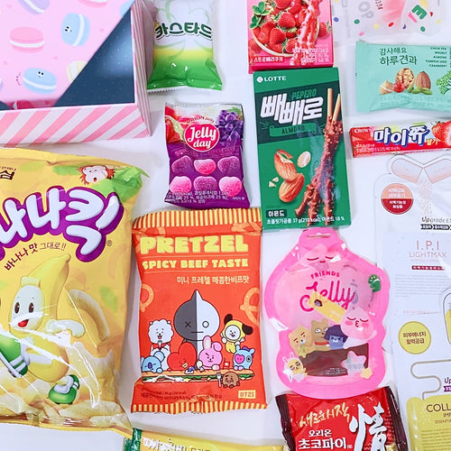 Korean Snacks BOX