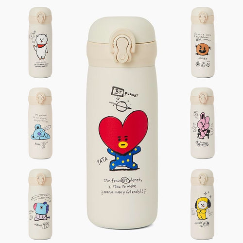 [LINE X BT21] Milk Tumbler 350ml