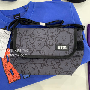 [LINE X BT21] Messenger Bag Heart Version