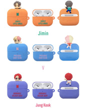 [BIG HIT] BTS Character Figure Airpods & Airpods Pro Case