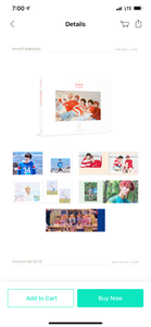 TXT TOMORROW X TOGETHER The 2nd Photobook/DVD - H:OUR