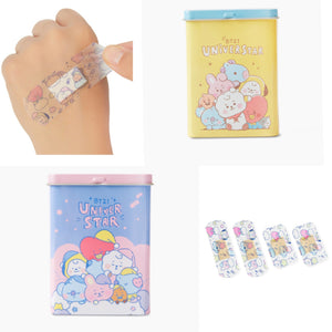 [LINE X BT21] Baby Cooling Aqua Waterproof Band-Aid