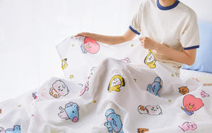 [NARA HOME DECO X BT21] Baby Ripple Blanket