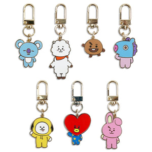 [LINE X BT21] Simple Keyring