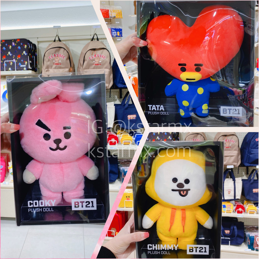 [LINE X BT21] OFFICIAL COOKY, CHIMMY and TATA Standing Doll (Medium)
