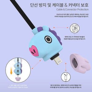 [LINE X BT21] Character Cable 5pin or 8pin or Type-C