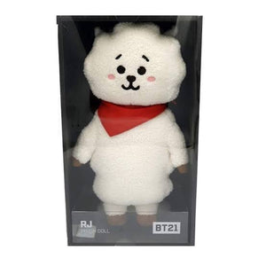 [LINE X BT21] OFFICIAL RJ Standing Doll (Medium)