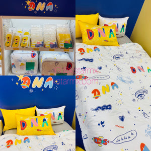 [BIG HIT] OFFICIAL DNA Cotton Comforter / DNA Pillow Cover