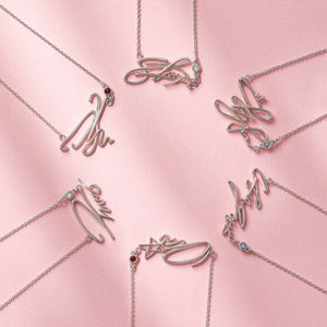 [TWOTUCKGOM X MONSTA X] Official Signature Necklace
